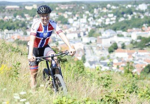 15. PLASS: Ingrid Bøe Jacobsen røk ut i kvartfinalen i EM-sprinten i terrengsykling.