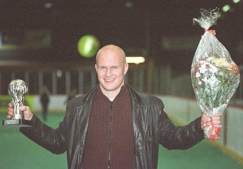 DRØMMELAG: Joacim Jonsson vant Sølvballen to ganger. På sitt drømmelag er han selv både midtstopper og trener.