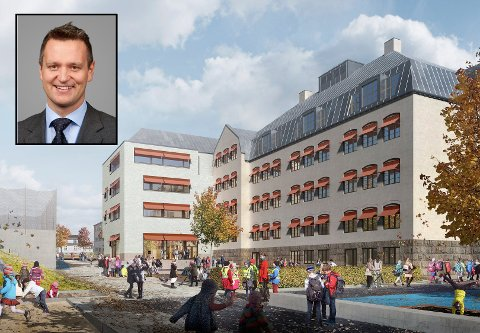 VIL HA RETTSLIG GJENNOMGANG: Advokat Espen Bakken ved Arntzen de Besche Advokatfirma AS representerer Veidekke i innsigelsessaken mot Halden kommune i Os-prosjektet.