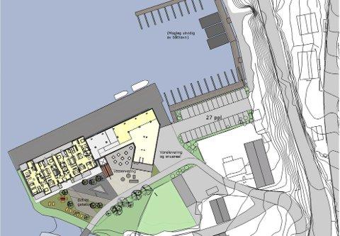 Store planer: Selskapet Importkaien Odda AS ønsker å utvikle området på Freimsanden med leilighetskompleks, mikrobryggeri med kafé/pub, samt småbåthavn.Illustrasjonsfoto: Importkaien AS