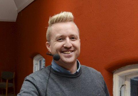 De siste årene har Hardanger Folkeblad og redaktør Eivind Dahle Sjåstad hatt en økning i opplaget. Totalt godkjent opplag er nå på 5263. Arkivfoto: Ernst Olsen