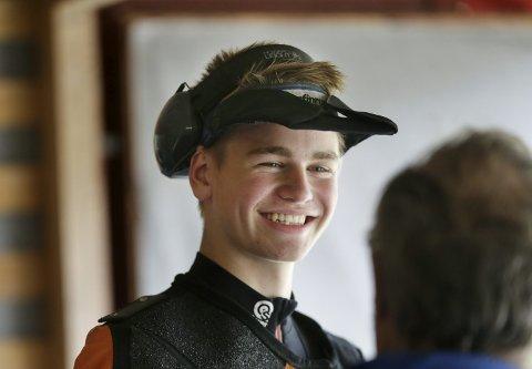 GLISER HAN I FØRDE OGSÅ?  Brynjar Grønås Birkeland fra Haugesund og Sveio Skytterlag.