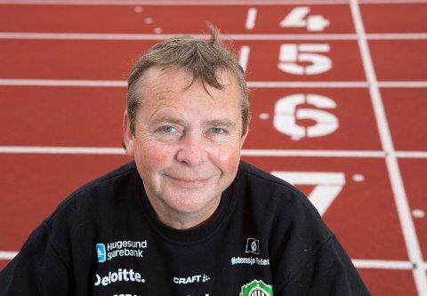 FORNØYD: HIL-leder  Tony Liestøl kan konstatere at den norske friidrettseliten kommer til Haugesund i februar neste år.