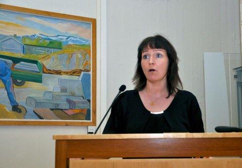 Alta-ordfører Monica Nielsen. Foto: Oddgeir Isaksen