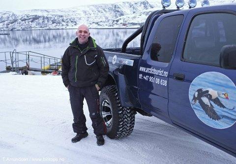 TAR STEGET VIDERE: Flere og flere bedrifter ønsker seg til Syltefjord for å fiske krabbe med Ørjan Hansen. Nå legger han til rette for å ta i mot større selskap.