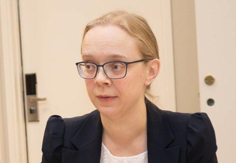 SÅRBARE I NORD: Britt Larsen Mehmi, kommunelege i Vadsø, sier man fremdeles må vise forsiktighet og hensyn, til tross for at ingen flere har testet positivt for koronaviruset i Øst-Finnmark i løpet av helgen.