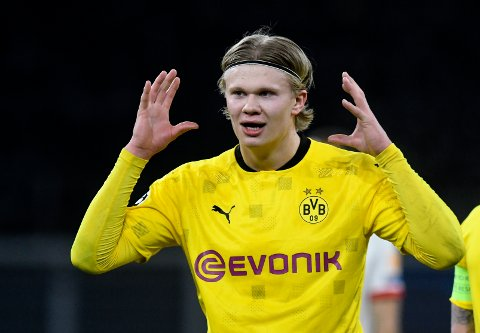 CHAMPIONS LEAGUE: Før kveldens kvartfinale, har Erling Braut Haaland scoret mot alle lag han har møtt i Champions League.