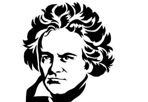 Ludwig van Beethoven: Slik ser Rosendal Kammermusikkfestival 2020 sin logo ut.