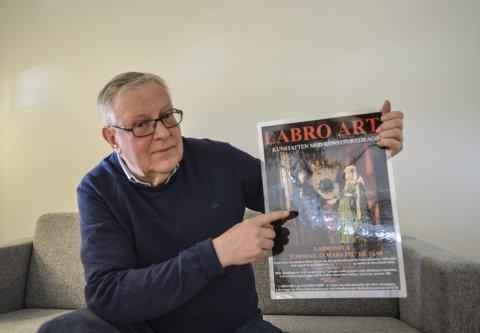 MALERKUNST: Johan Jarnæs tar blant annet for seg van Eycks maleri «Giovanni Arnolfini og hans brud» på Labrostua torsdag. Foredraget holdes i regi av Labro Art.