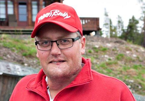 Gjermund Buen blir daglig leder for Kongsberg Golfbane. Her fotografert på Liatoppen.