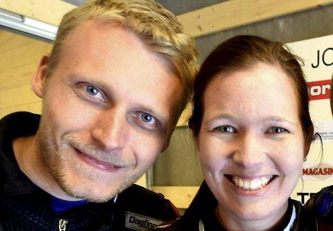 REGJERENDE MESTERE: Irene Knudsen Bøe og Kim-André Aannestad Lund vant Viken 1-mesterskapet, som ble avviklet i Jondalen i fjor.