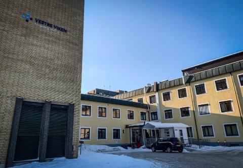 VENTER FLERE PASIENTER: Kongsberg sykehus er en del av Vestre Viken helseforetak, som igjen er en del av Helse sør-øst.