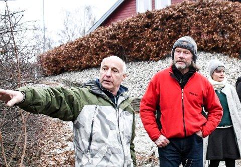 Viktig: Erik Hennum (t.h.) oppfordret Fulgerud til å melde fra om funnet.