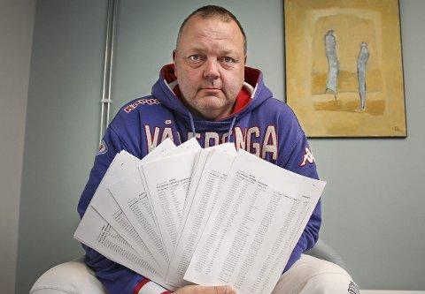 FRUSTRERT: Øystein Gulljord er oppgitt over at Get sender nye telefonregninger til hans gamle foreldre selv om stengning av telefonen er bestilt og betalt. foto: geir hansen