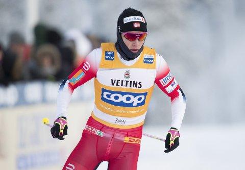 Tour-favoritt: Johannes Høsflot Klæbo er blant favorittene i Tour de Ski. Foto: Terje Pedersen / NTB scanpix