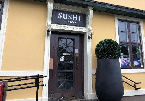 LØNNSOM: Sushi på Holtet gikk en million kroner i pluss i fjor.