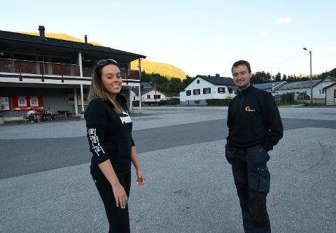 Jeanette Olderløkken og Imbert Kleiven i Lalm Arbeiderlag ønsker innspill fra barn og ungdom på Lalm.