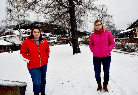 Mari Gudbrandsen og Lene Skaugen mener et Fontenehus kan være et supplement til de andre helsetjenestene i regionen.