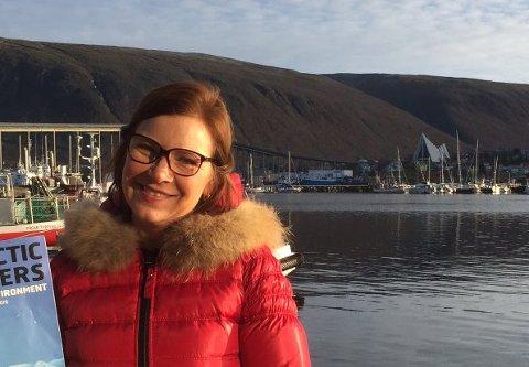 Gøril Johansen flyttet nordover igjen for noen år siden, for å jobbe med Arctic Frontiers. De neste to årene skal hun lede formannskapet i Barentsrådet. - Vi kommer til å være godt synlige i Arctic Frontiers til neste år, lover Johansen, som får gode skussmål fra utenriksminister Ine Eriksen Søreide.