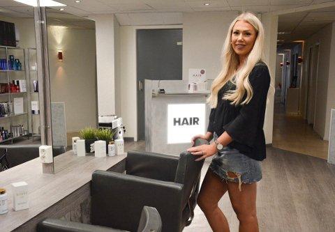 Marthe Sønsteby fra Skreia åpner ny frisørsalong på Gjøvik.