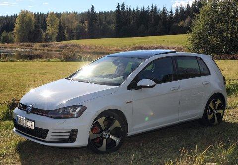 UOVERVINNELIG? Volkswagen Golf ble i fjor igjen Vestopplands mest solgte bilmodell. Mest gikk det av el-varianten e-Golf – her en heftig GTI.FOTO: ØYVIN SØRAA