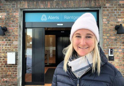 Maren Skjøld reiste hjem til Gjøvik for å få svar på ankelskadene.