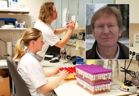FORSKER: Lars J. Danbolt er sammen med Gry Stålslett leder av den norske studien på hva koronakrisen har gjort med livet.