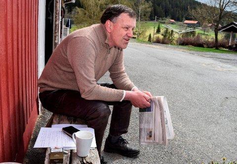 RETNINGSENDRING: Bondeopprører handler ikke om penger i år, men behovet for en retningsendring i jordbrukspolitikken, sier Per Idar Vingebakken.