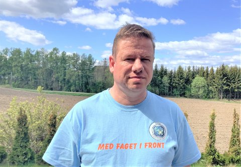 REAGERER: Trond Balstad er hovedtillitsvalgt for Norsk Sykepleierforbund i Gjøvik kommune, og blant dem som reagerer på lønnsnemndas beslutning.