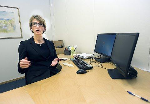 LØNNSOM SPARING: Banksjef i DNB Follo, Britt Øvretvedt tror mange kan tjene på å spare i IPS.