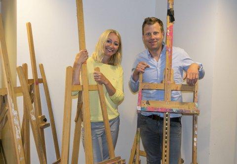 NYHETER: Assisternede rektor Cecilie Lindflaten og rektor Endre Lindstøl ved Larvik kulturskole har nyheter på høstens skoleplan.