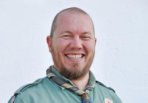 KLAR FOR OPPGAVEN: – Da landssjefen gikk av etter fire år ble jeg spurt om å trå inn, sier Thor Andreas Moe Slinning.