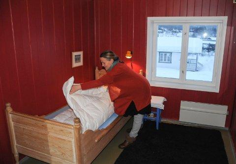 RER OPP: Andre etasje i hovedhuset har fem soverom hvor det på sikt kan bli sammen 12 sengeplasser.