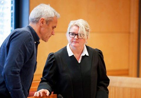 AKTOR: I sin prosedyre la aktor Iris Storås ned påstand om 18 års fengsel for ektemannen til Janne Jemtland. Foto: /NTB Scanpix / Vidar Ruud