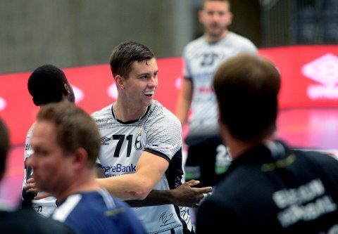VIDERE: Alexander Blonz går videre til den ungarske mesterligaklubben Pick-Szeged kommende sesong. Han selges dermed ett år før kontrakten med Elverum Håndball går ut.