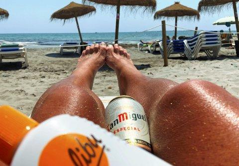 Beachparty: Kranglefanten fikk San Migel'en i halsen da Robinjo svingte den moralske pisken mot alle som ferierer utenfor egen hage denne sommeren.                                                       Foto: Karantene Kid