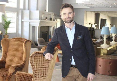 TØFFE TIDER: Direktør Paul Wegar Ekelund Dørdal er spent på de tøffe tidene som Quality Hotel Skjærgården og hele reiselivsbransjen går inn i. Koronahverdagen henter bransjen inn igjen, etter en fantastisk travel sommer.