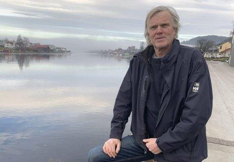 Vant fram på alle punkter: Dag Hvitsand og hyttenaboene på Siktesøya ble hørt. Kommunens plan- og byggesak har avslått søknaden fra Telenor om å få dispensasjon til å sette opp en mobilmast på øyas høyeste punkt.