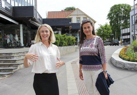 SATSER: Karianne Schanke og Gyda Riis tar eiendomsselskapet inn i en ny tid med stor satsing. Utbyggingsplanen i tre faser for Beha-kvartalet betyr milliardinvestering. Selskapet har så langt ikke hentet inn nye investorer og mener de står støtt på egne bein.