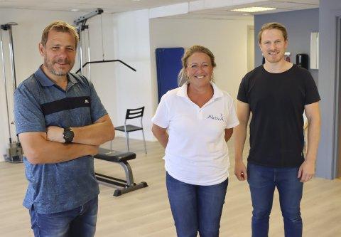Samboere: Urædd-trener og fysioterapeut Øyvind Moen har fått to nye samboere i Storgata 101. Fysioterapeutene Monica Hagen og Einar Resch har blitt en del av Storgata fysioterapi.