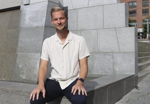 STERKT: Brevik-trener Joakim Nilsen så laget ta tre poeng i Drangedal.