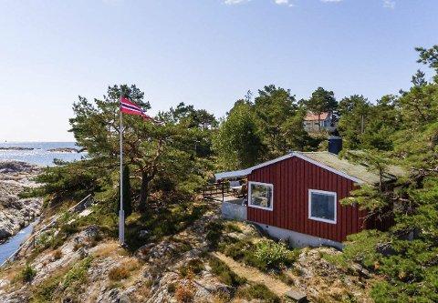 Måtte ha: Det var tydelig at kjøper bare måtte ha denne hytta i Såsteinsundet. Foto: THT Foto