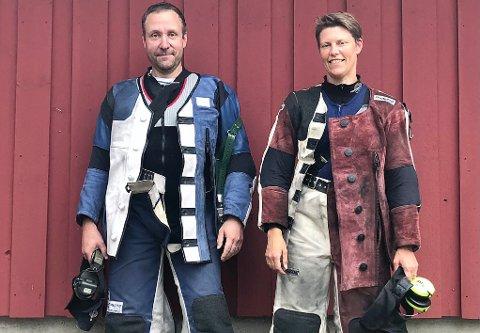 KVALIFISERTE: Både Espen Glosli og Vanja Ramstad er kvalifiserte for Mestermøtet på Elverum i august - som er et alternativ til det gedigne Landsskytterstevnet som koronaen stopper for andre året på rad. – Det er stas å få være med der, påpeker Espen.