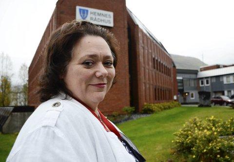 Christine Trones (H) begynner i sin nye jobb som ordfører i Hemnes kommune 7. oktober.