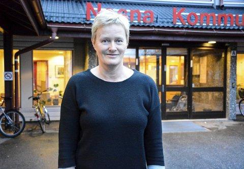 Fornøyd: Hanne Davidsen (Ap), ordfører i Nesna, er veldig tilfreds med årets budsjett i Nesna kommune.Foto: Kenneth Haagensen Husby