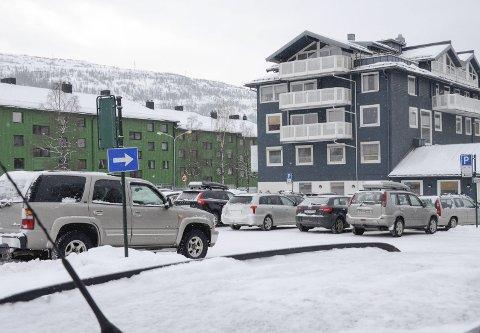 Studentboliger: Studentinord venter på svar fra departementet angående tilskudd til de planlagte studentboligene i Kaialundveien.Foto: Gøran O. Pedersen