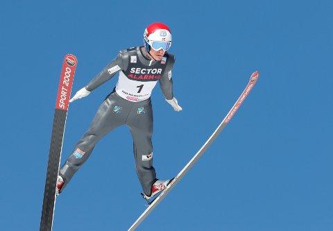 Simen Tiller ble nummer 41 i onsdagens verdenscuprenn i Granåsen.