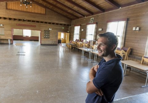 Eivind Wårum vil ha mer kulturaktiviteter på Bøndernes Hus. Politikerne vil tenke seg om.