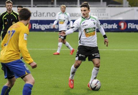 Tilbake i eliteserien: Neste år venter eliteseriespill for Kamer Qaka i Kristiansund. Den tidligere HBK-spilleren er også nominert til årets spiller i 1. divisjon.