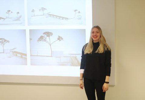 Lisa Siegel er tidligere elev på Formgivning og studerer nå på arkitekthøgskolen i Oslo.